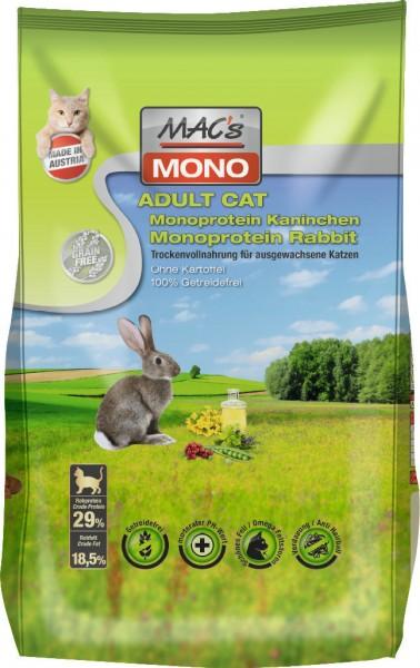 MAC's Adult Cat Monoprotein Kaninchen Katzentrockenfutter