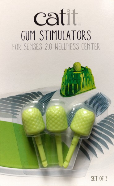 catit Senses 2.0 Gum Stimulators Massageknauf Set (3 Stück)